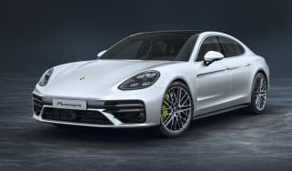 Porsche Panamera Turbo S E-Hybrid front view