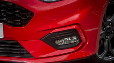 The ST-Line has a deeper, more aggressive spoiler than other versions