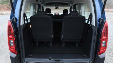 Citroen Berlingo MPV seats in position