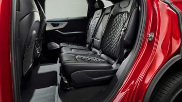 Audi Q7 SUV facelift rear seats