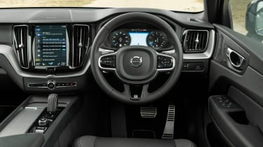 Volvo XC60 SUV interior