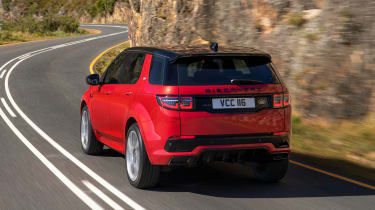 Facelifted Land Rover Discovery Sport - rear driving