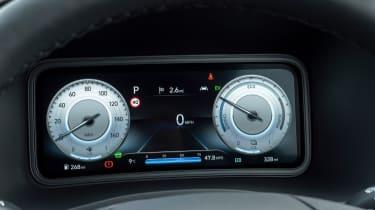 Hyundai Kona SUV digital instruments
