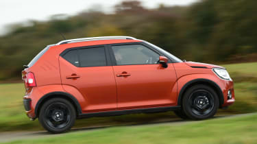 It's not just about style either - there are four-wheel drive versions of the Suzuki Ignis to help keep you going