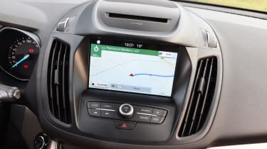 Ford's SYNC3 infotainment system is standard on Titanium models and above