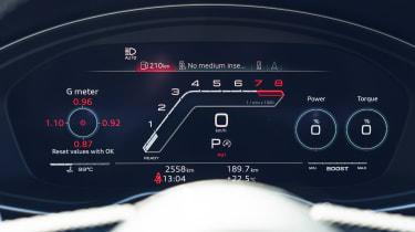 Audi RS4 Avant estate Virtual Cockpit