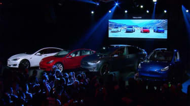 Tesla Model Y reveal event