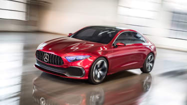 The Mercedes Coupe A Sedan points the way to a new saloon model
