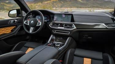 BMW X5 M SUV dashboard