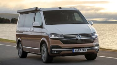 Volkswagen California front 3/4 driving
