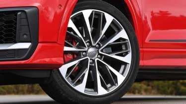 Audi SQ2 SUV wheel