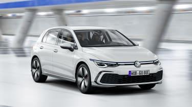 2020 Volkswagen Golf GTE driving