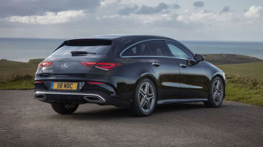 Mercedes CLA Shooting Brake rear view