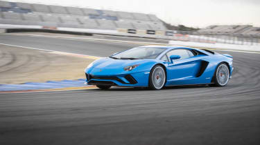 Not only that, but the Aventador has been updated for 2017