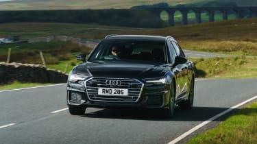 Audi A6 Avant driving - front