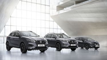 Nissan Qashqai, Nissan Micra and Nissan X-Trail editions
