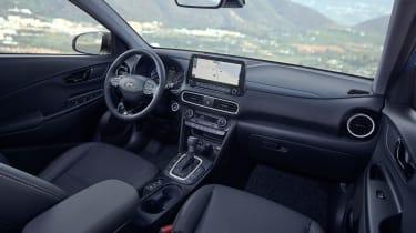 2019 Hyundai Kona Hybrid - interior quarter angle