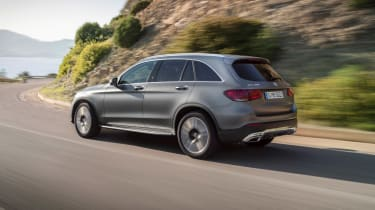 2019 Mercedes GLC SUV - rear