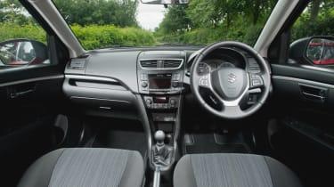 suzuki swift hatchback 2013 interior