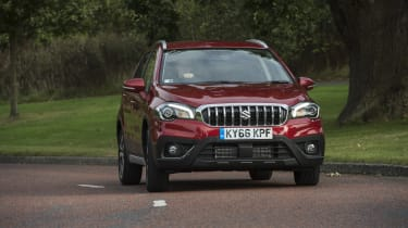 Body cladding and chunky alloy wheels give the S-Cross a purposeful look