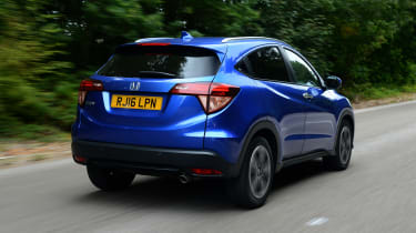 Honda HR-V - rear 3/4 view