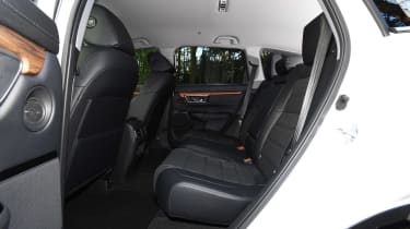 honda cr-v hybrid suv back seats