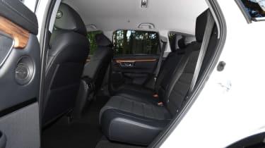 honda cr-v hybrid suv back seats