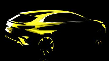 Kia XCeed SUV teaser