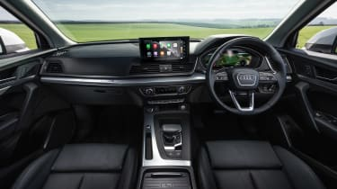 Audi Q5 dash