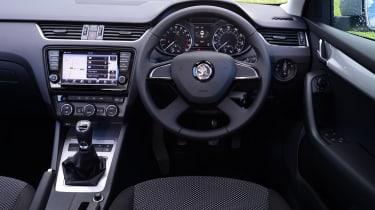 The Skoda Octavia boasts a well-built, classy and comfortable cabin, with generous standard equipment.