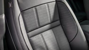 Range Rover Evoque SUV front seats