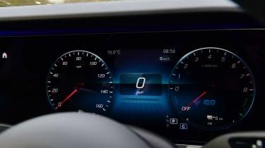 Mercedes E-Class hybrid digital instruments