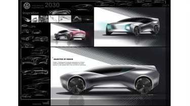 Bingquan Wang – Binquan created a sporty, high-waisted SUV that used exterior lighting as a design feature.