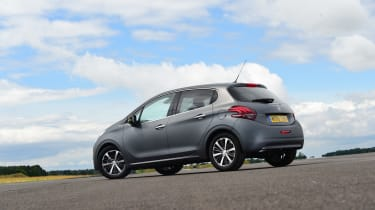 Turbocharging means the 208's 1.2-litre petrol engines pack more of a punch than you might expect