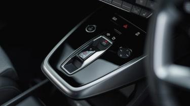 Audi Q4 e-tron SUV gear selector