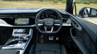Audi Q7 SUV interior