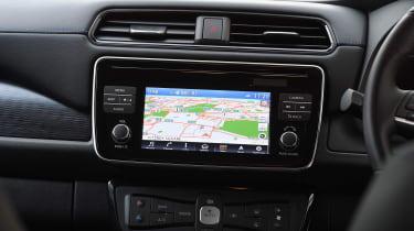 nissan leaf hatchback navigation