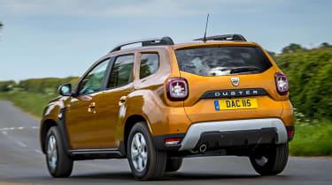 2018 Dacia Duster cornering