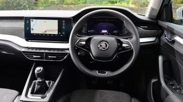 Skoda Octavia hatchback interior