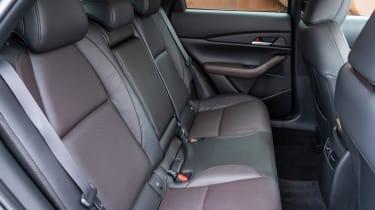 Mazda CX-30 SUV rear seats