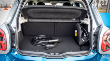 Smart EQ ForFour hatchback boot