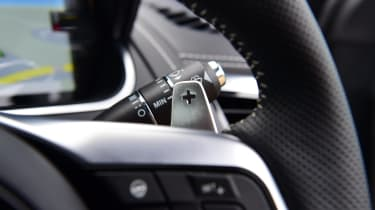 Jaguar F-Type coupe steering wheel