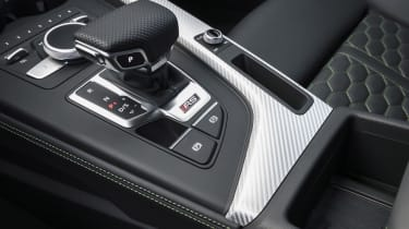 2020 Audi RS5 Coupe - gearshifter