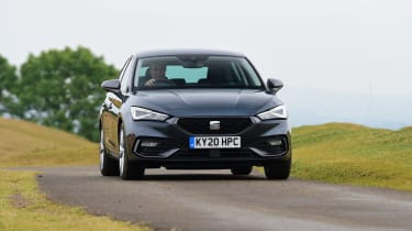 SEAT Leon hatchback - front driving