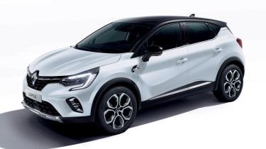 2021 Renault Captur E-Tech Hybrid SUV - front 3/4