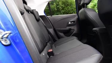 Vauxhall Corsa-e hatchback rear seats