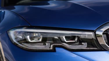 BMW 3 Series Touring headlight