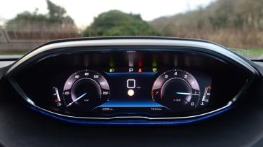 Peugeot 3008 SUV digital instruments