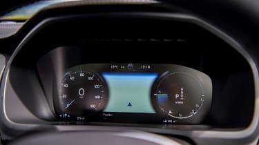 Volvo XC90 Recharge digital dials