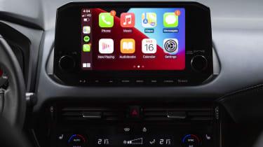 New Nissan Qashqai Apple CarPlay screen